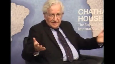 Noam Chomsky (2014): Realism, National Interest and The Israel Lobby
