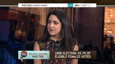 Melissa Harris-Perry  Young women have the most to lose in election