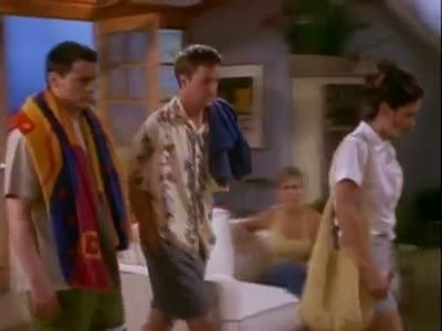 Friends – how was the beach?