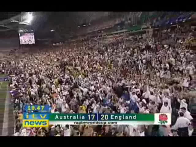 Jonny Wilkinson drop goal 2003 WC