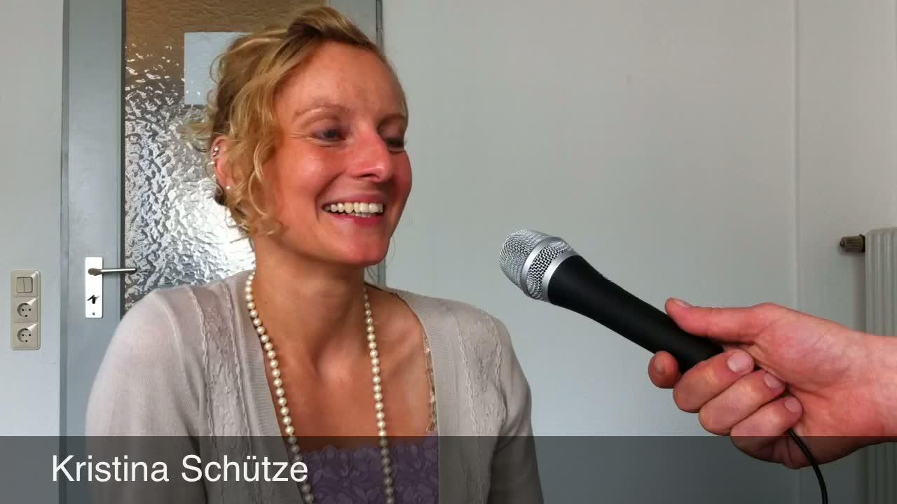 Test-Interview mit Kristina Schütze