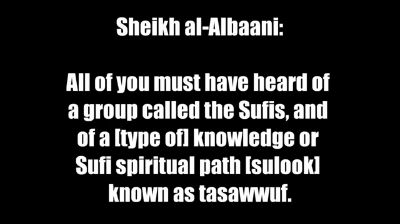 The Extremist Sufis and the Unity of Being (Wahdatul-Wujood) – Shaykh al-Albanee