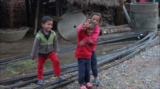 30 seconds chitwan village nightfall