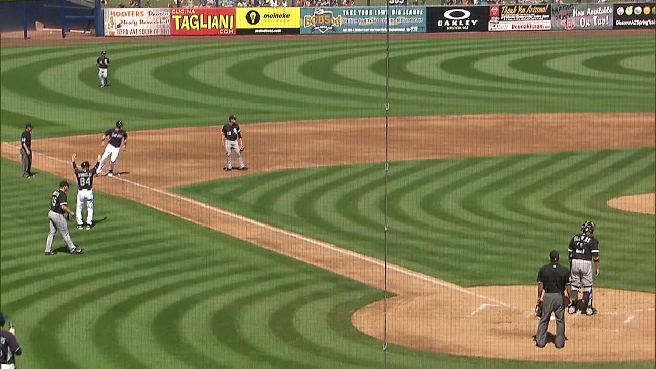 Ackley RBI Double