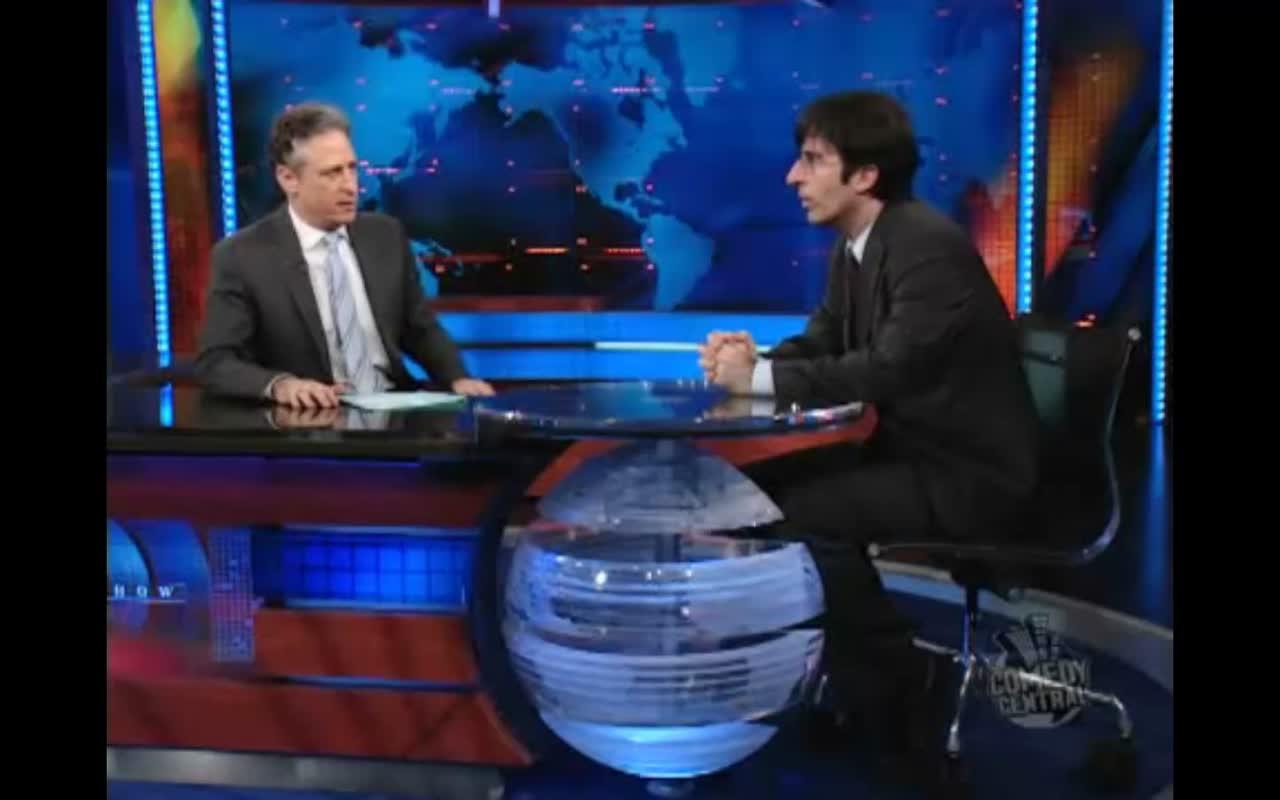 Daily Show Jon Stewart – John Oliver