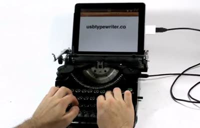 Ipad_Usbtypewriter_demo