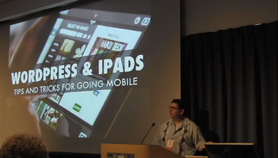 Tris Hussey: WordPress On The iPad: Blogging, Maintaining, Doing It All Mobile