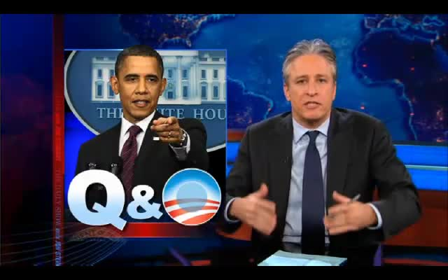 Jon Stewart on the Press Conference 03-06-12