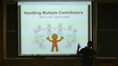 13_How to Manage Multiple Contributors and Content – Mike Lewis