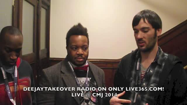 DEEJAYTAKEOVER RADIO AT CMJ 2014