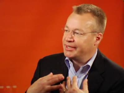 Stephen Elop on Partnering at Microsoft