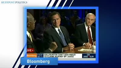 huffingtonpost-Ron Paul Calls Out Herman Cain For Lie Over Fed Audit During GOP Debate