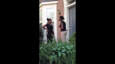 black-girl-brings-drama-to-front-door