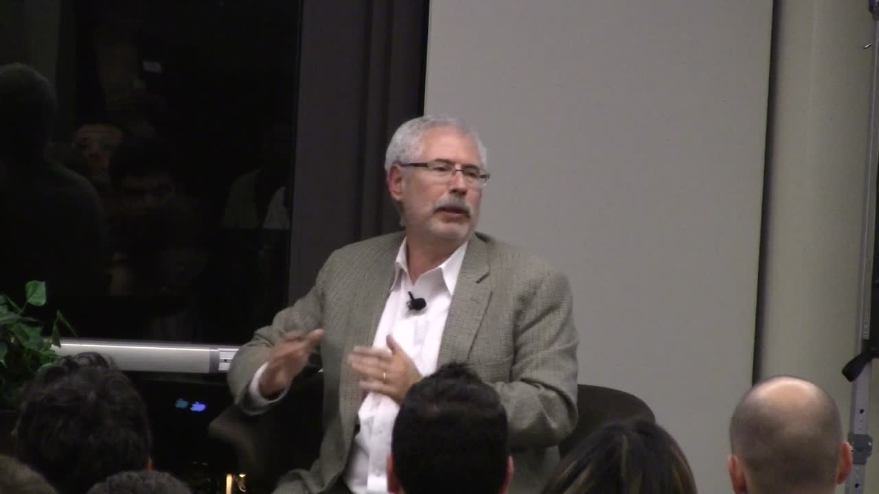 Steve Blank at Stanford GSB Oct 2012 part 1