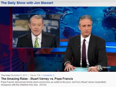 DAILY SHOW – 'THE AMAZING RAISE'