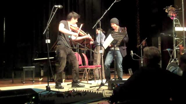 Charles Yang and Jake Shimabukuro