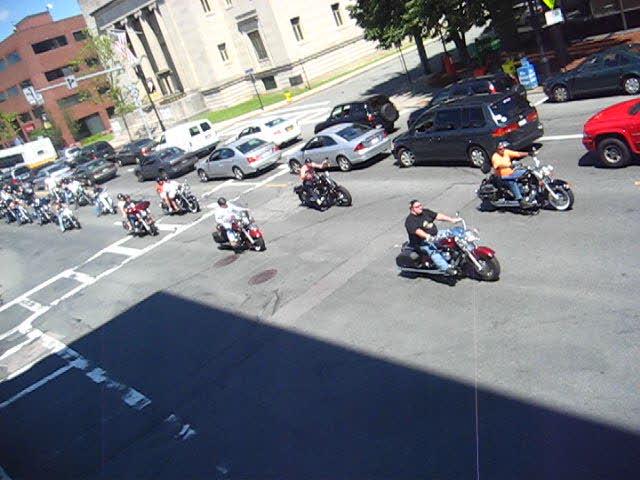 Bikes on Main Street