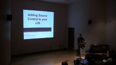 Mark Kelnar: Adding source control to your code and life