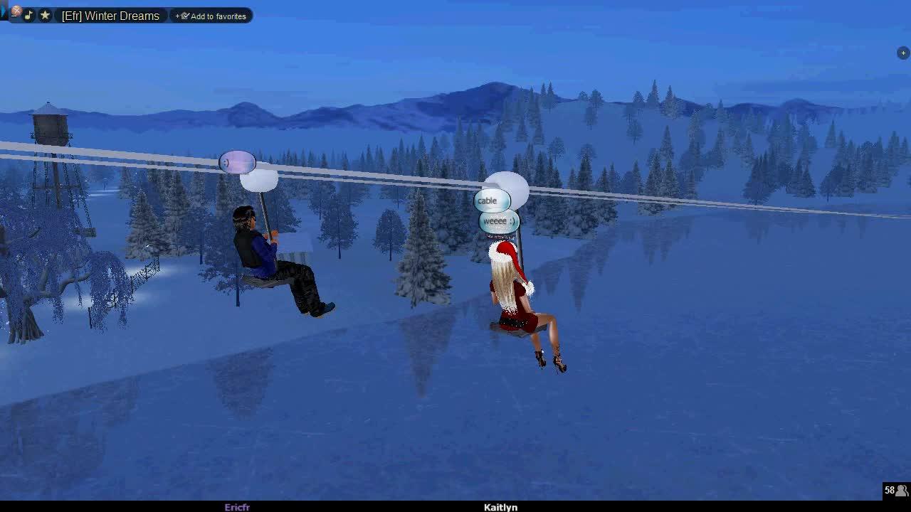 Winter Wonderland with EricFr aka the Walt Disney of IMVU 2014-12-15