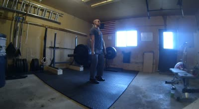 Power Clean Below Knee – 5 Singles 200#