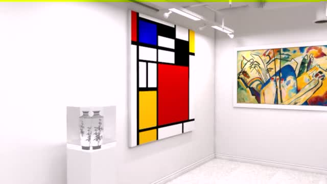 Exhibition Animation