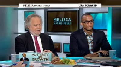 msnbc tv  Measuring austerity vs. growth in America