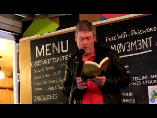 Alan McCormick reads from The Runner
