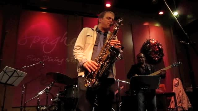 Darren Rahn, the opener, Spaghettini, December 16, 2012