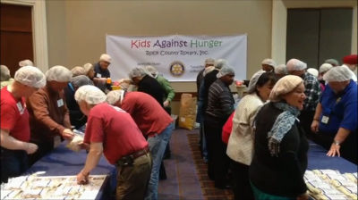 Kids Against Hunger project