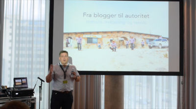 René Frederiksen: From blogger to autority – content, earnings, and technique