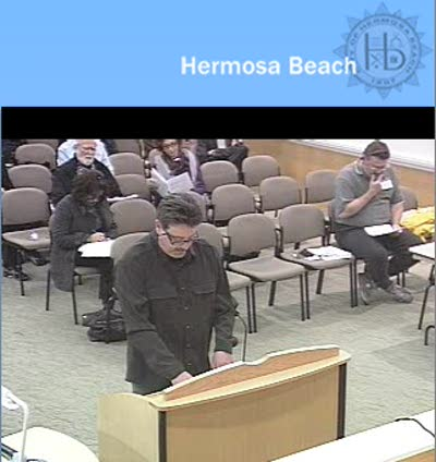 Hermosa Beach City Council Feb 9 2010