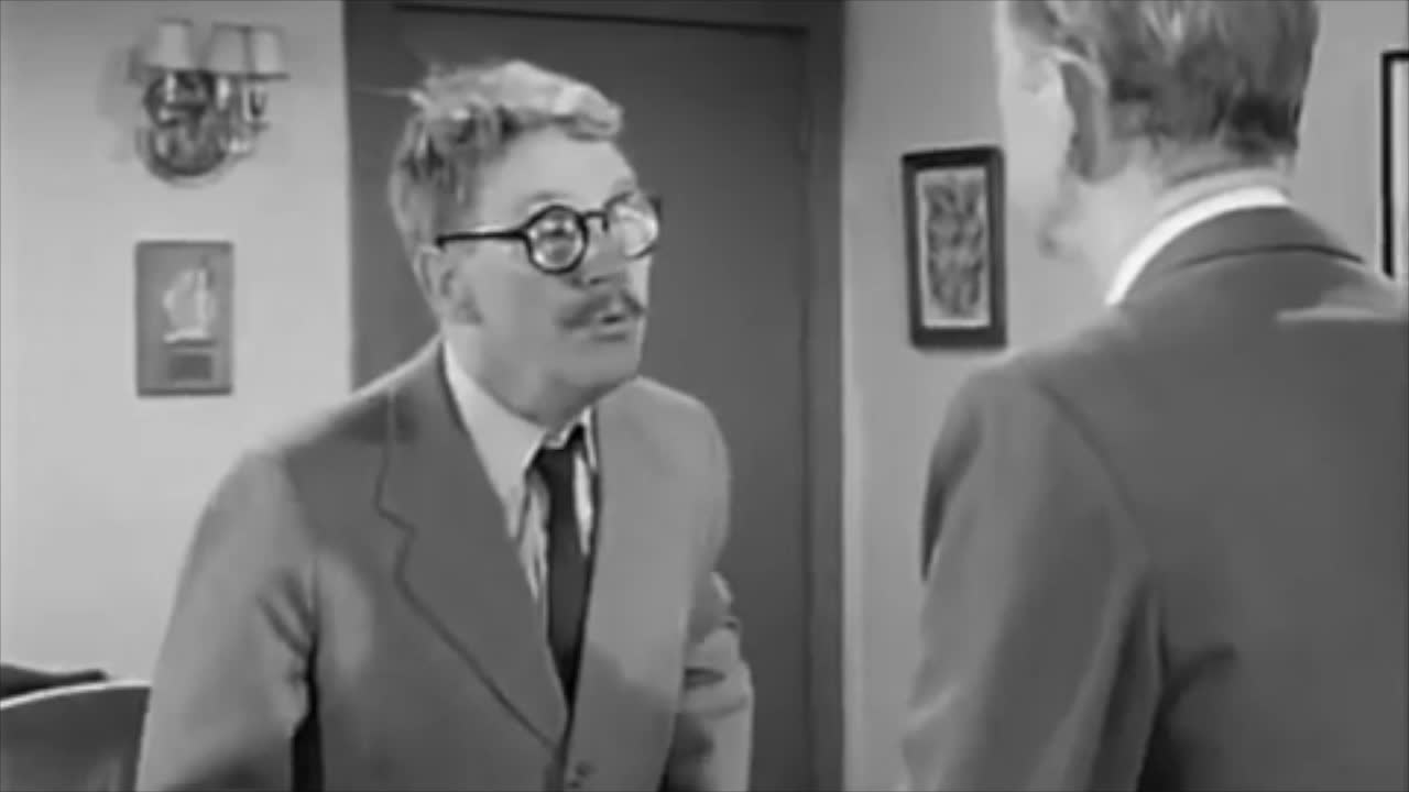 "Burgess Meredith as Henry Bemis -The Twilight Zone ""Time Enough at Last"""