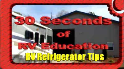 RV Refrigerator Tips &Tricks