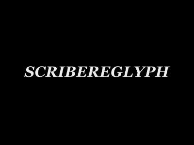 Scribereglyph Vlog1: Projects