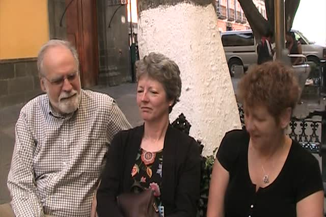 Anna's parents visit Puebla