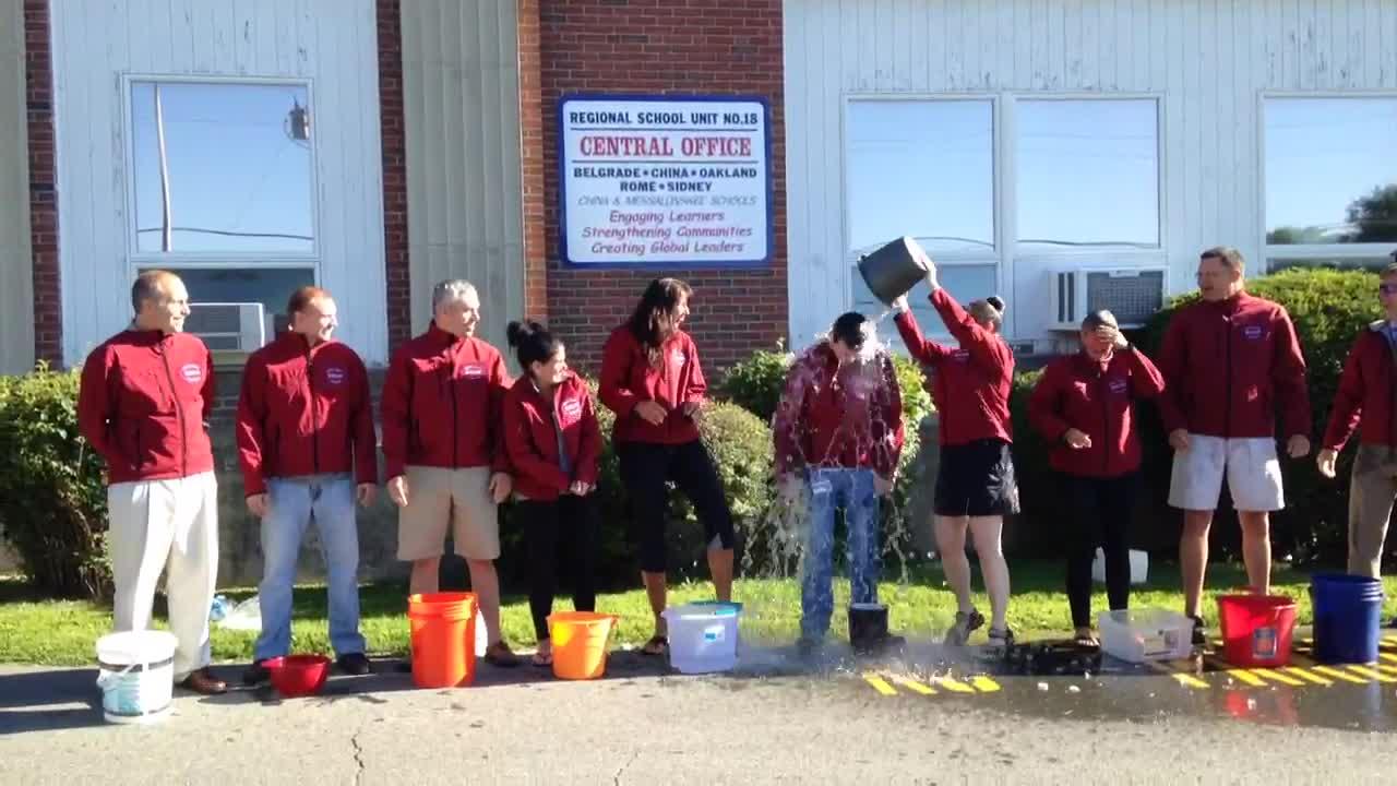 RSU18 Admin Ice Bucket Challenge