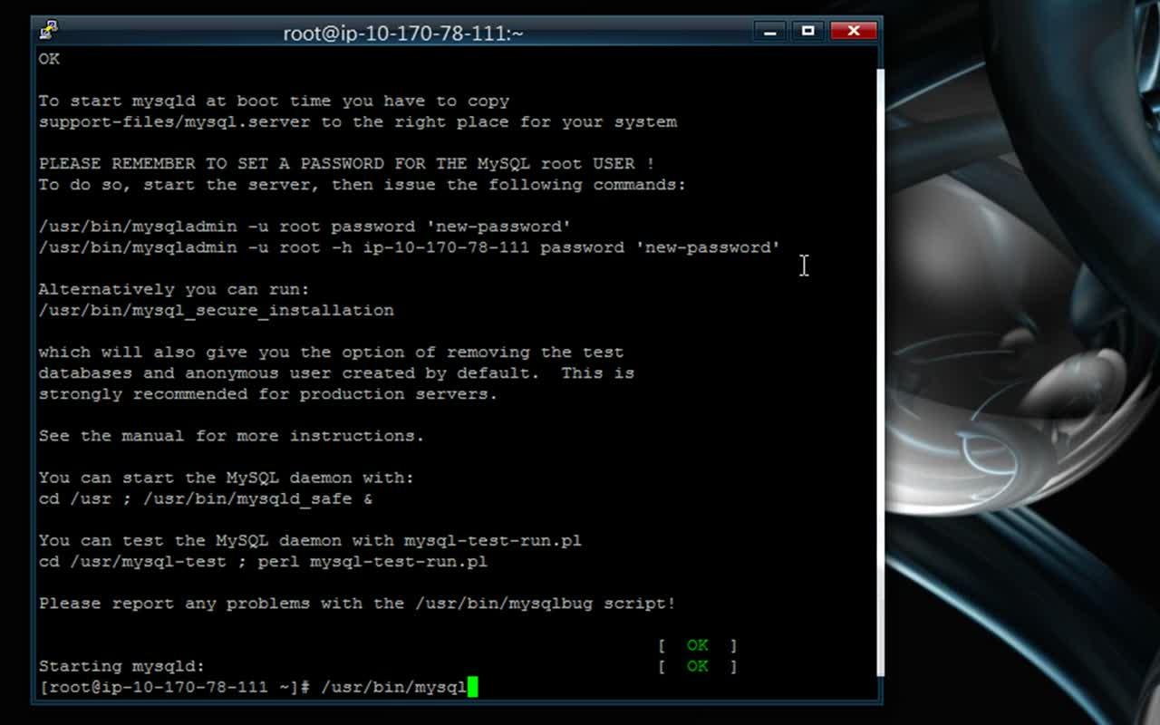 AWS EC2 Linux WordPress Install