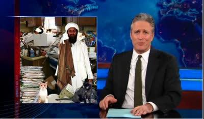 Jon Stewart – Osama bin Writin