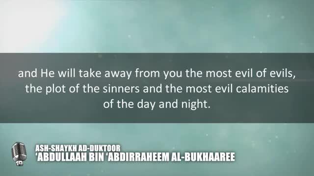 Advice to the one that returns to sins after repenting –  Shaykh Abdullaah al-Bukhaaree