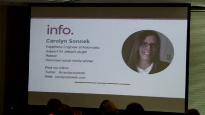 Carolyn Sonnek: We Can't Read Your Mind :: How To Find Help For Your WordPress Problems