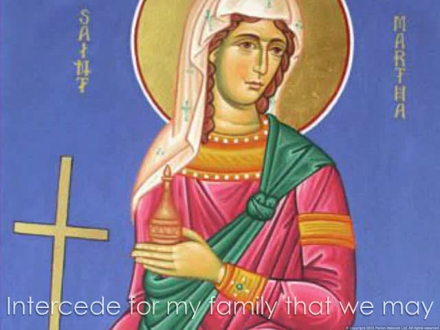 Saint Martha Novena