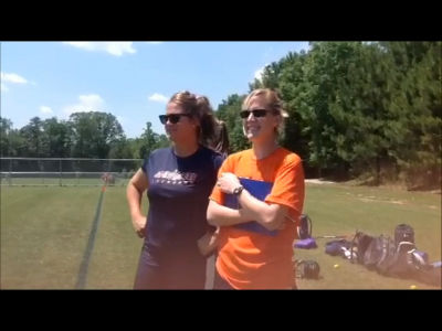 STORM Orange Coaches Caitlin & Mary