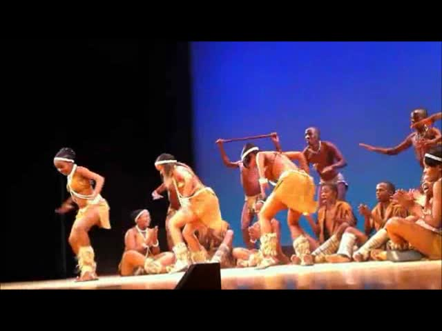 President Obama 2012 Victory (Botswana Traditional Dance)