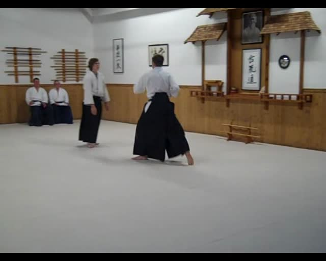 Travis's Sankyu Test – Koshinage