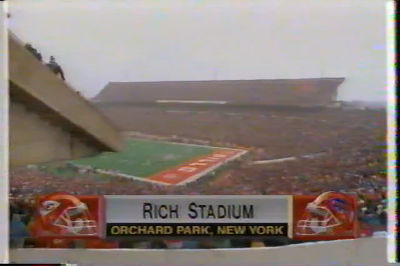 1993 AFC Championship Highlight Bills v. Chiefs