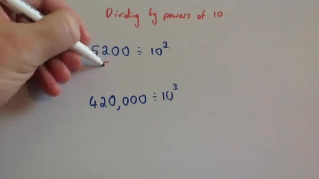 Division by powers of 10 &#8211; Corbettmaths