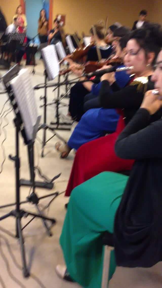 Orchestra in Ashgabat