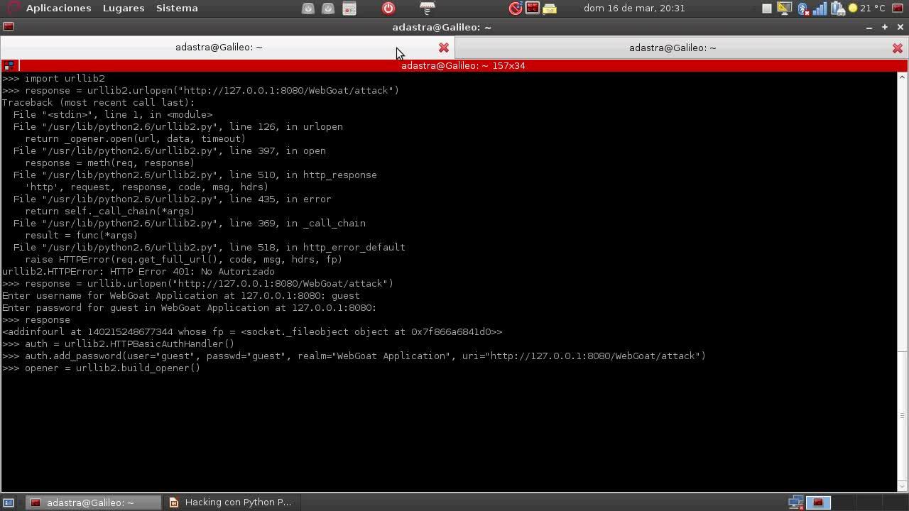 Hacking con Python Parte 7 – Manipulacion de peticiones HTTP