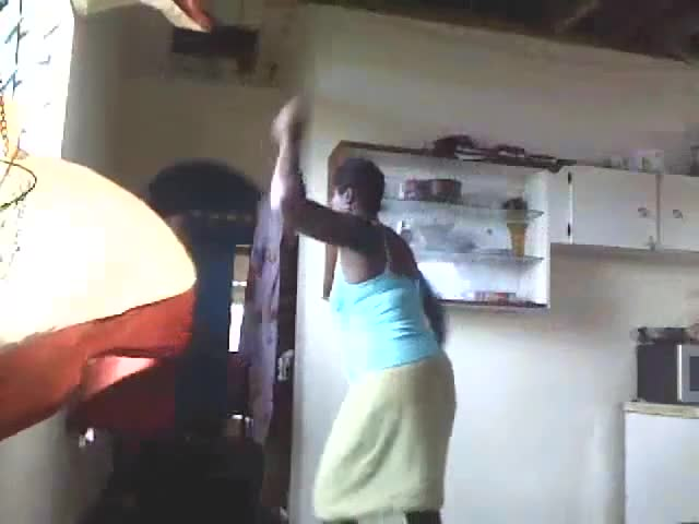 Girl Gets A Whipping