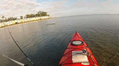 kayak fishing in the Florida Keys 2013